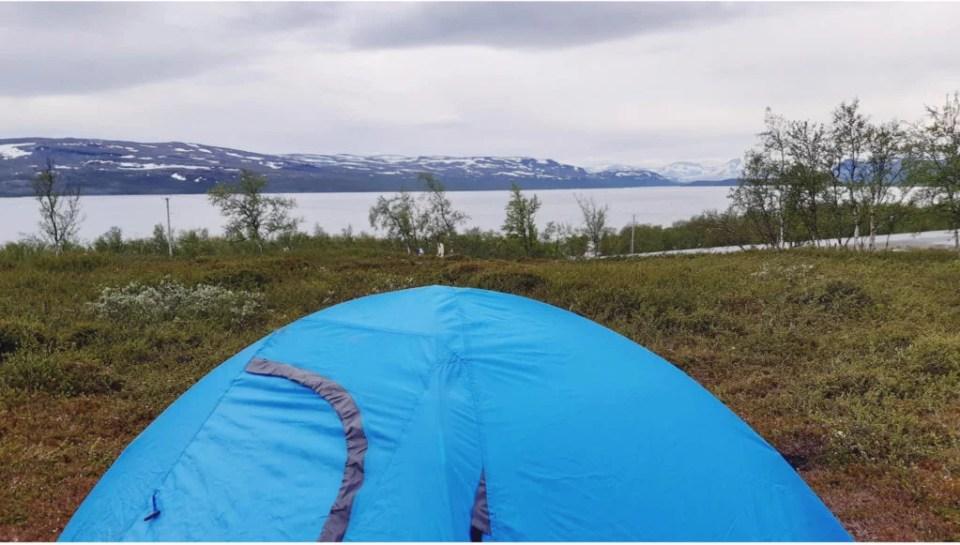 camping in kilpisjarvi