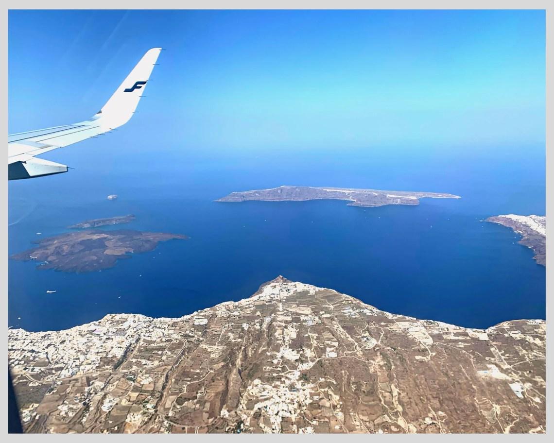 thira santorini island greece
