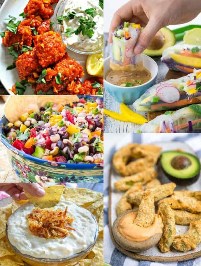 Vegan Recipes Appetizers