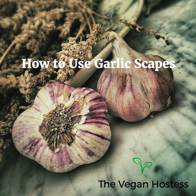 garlicscapes Link in bio veganhostess vegan garlic veganfood veganblogger vegancommunityhellip