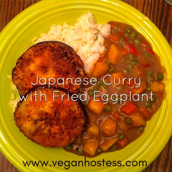 Japanese Curry with Fried Eggplant