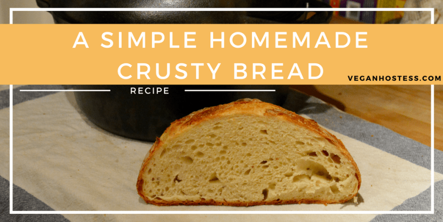 Simple Homemade Crusty Bread