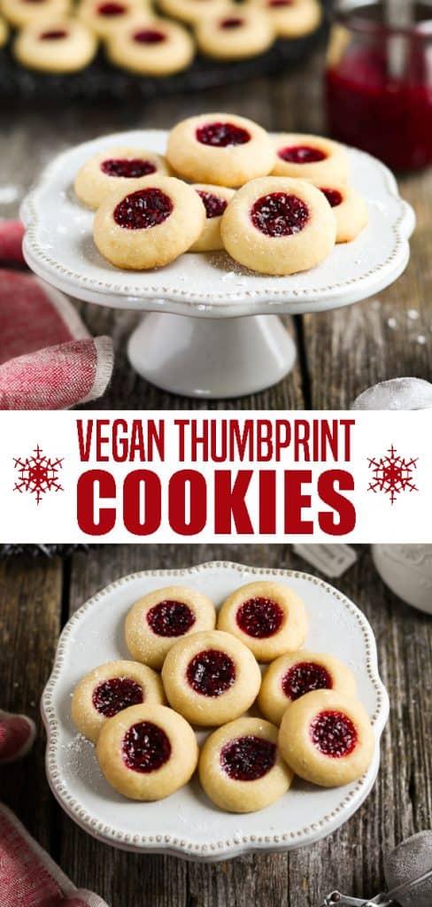 Vegan Thumbprint Cookies Pin
