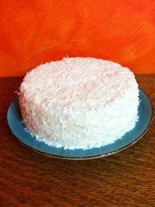 Limoncello Coconut Cake