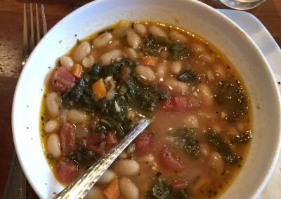 Italian White Bean & kale Soup - Dinner and a Movie
