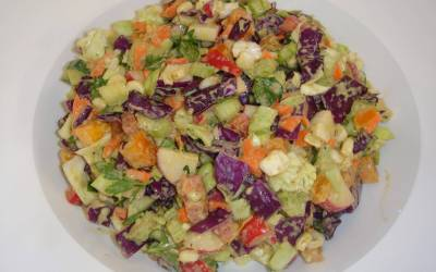 Middle Eastern Chopped Summer Salad