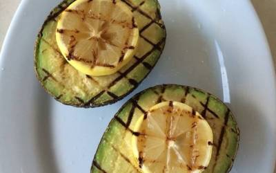 Grilled Avocados and Lemons