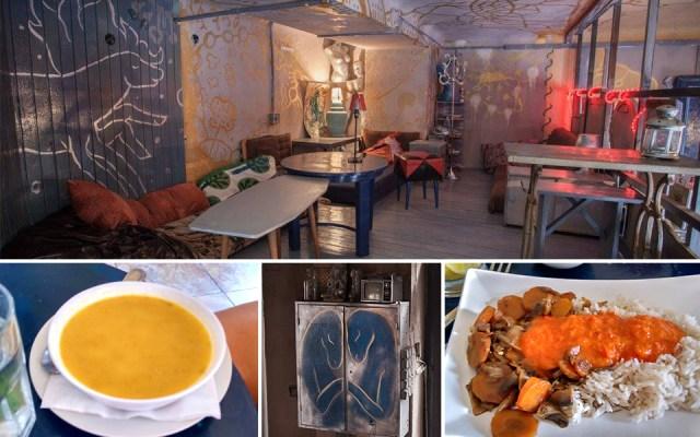 Kék Ló vegetáriánus étterem és fashion pub
