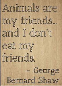 veganism.es George B Shaw