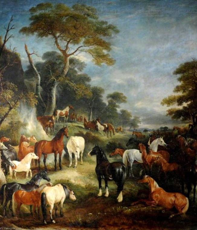 The Council of Horses from John Gay's Fables By John Ferneley