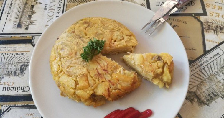 Receta de Tortilla de patatas vegana ¡Fácil y rápida!