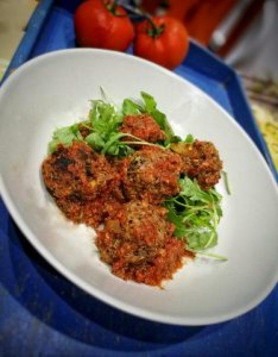 Albóndigas de quinoa y lentejas 100% vegetales