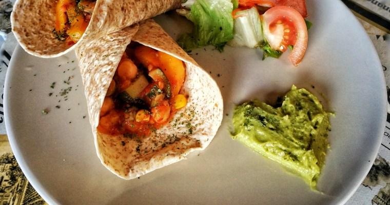 Fajitas vegetales de garbanzos ¡Deliciosas, saludables y 100% vegetal!