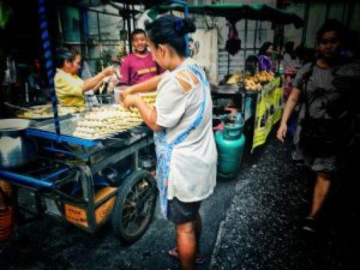 comida tailandesa vegana
