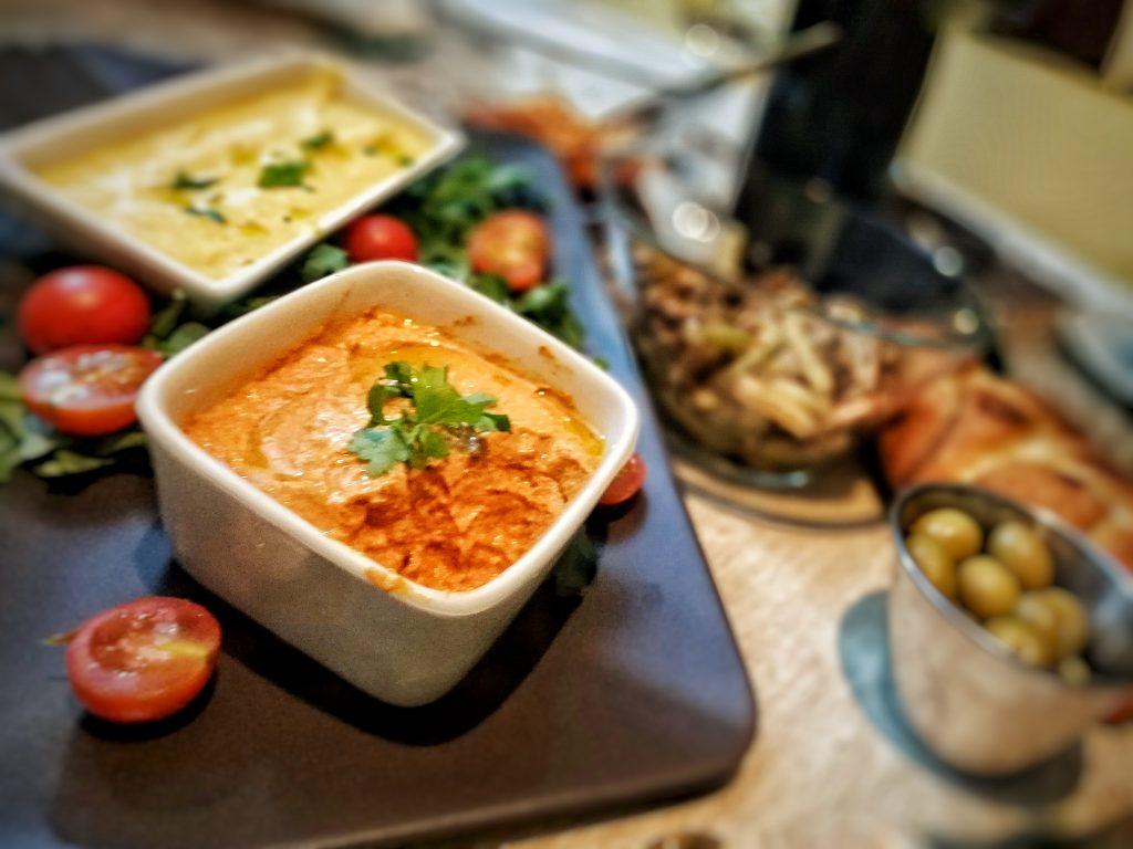 Pate Vegano de Pimientos asados y Tofu
