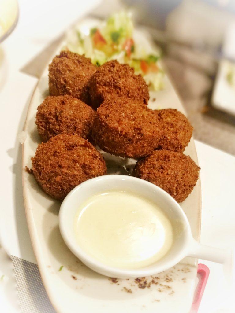 La Casa del Hummus - Falafels con tahina