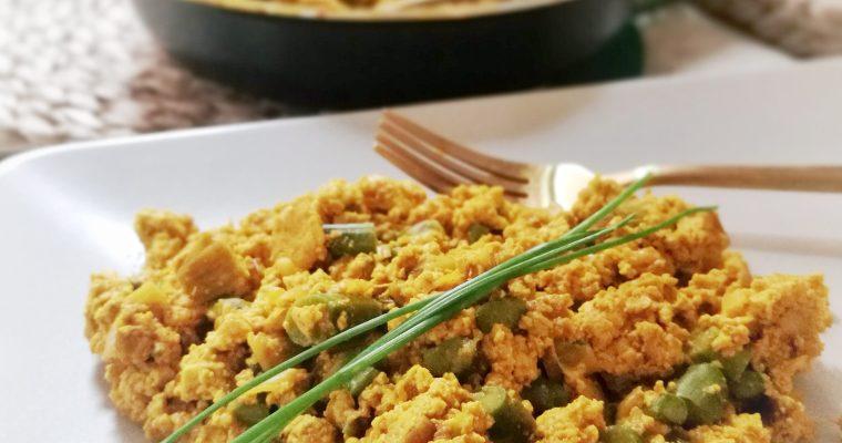 Revuelto Vegano de Tofu y Espárragos ¡Listo en 15 minutos!