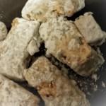 Tofu en adobo ya harinado