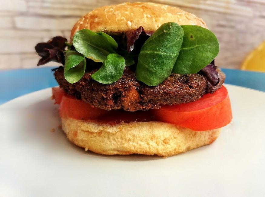 hamburguesa vegana de soja texturizada ¡sin gluten!