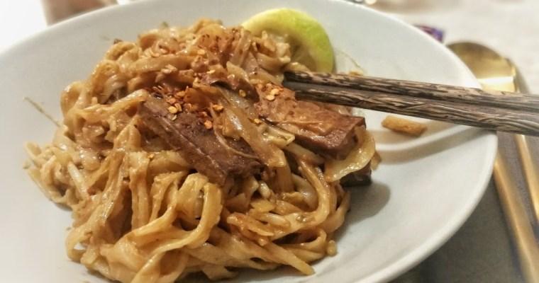 Pad Thai Vegano con tofu ¡Sin gluten!