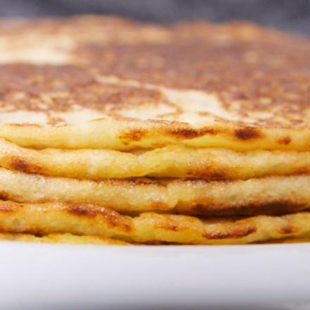 veganistische pannenkoeken zonder eieren
