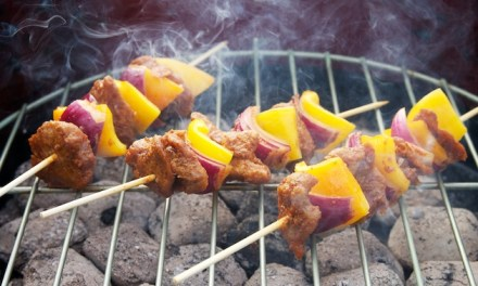 Barbecue – gemarineerde seitanbrochetten