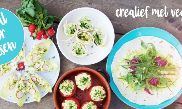 Vegg Salad – creatief met vegan eiersalade