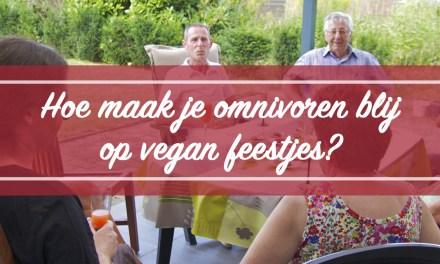 Hoe maak je omnivoren blij op vegan feestjes?