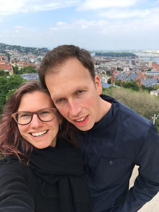 Elke en Jordy in Boedapest