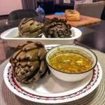 Alcachofra com Molho Especial Vegano - Receita Veganizadores