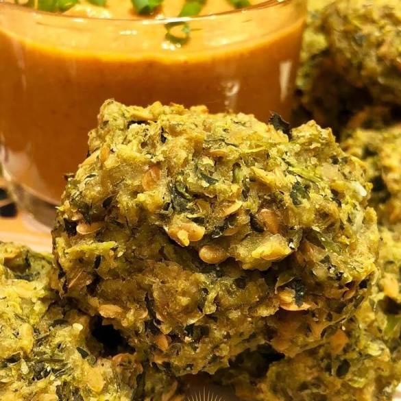 Bolinho de Brócolis Vegano - Receita Veganizadores