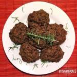 Bolinhos Veganos de Talos e Folhas de Brócolis - Veganizadores