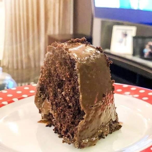 Bolo de Chocolate Vegano - Receita Veganizadores