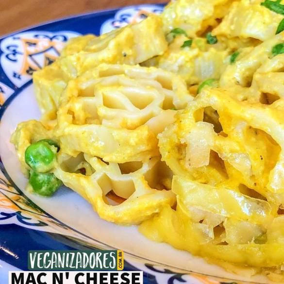 Mac'n Cheese Vegano - Receita Vegana