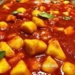 Nhoque Vegano de Batata Doce | Veganizadores