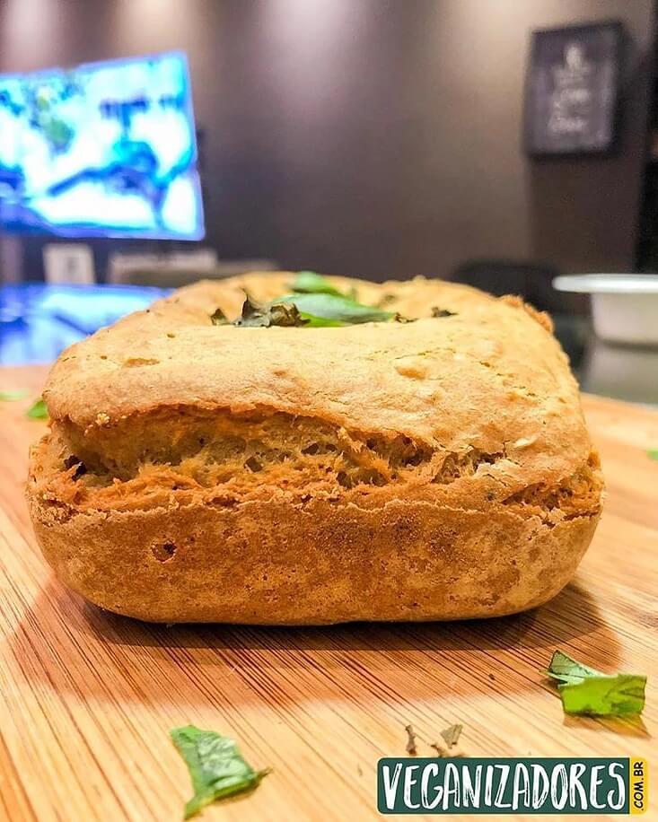 Pão de Forma Vegano Sem Glúten - Receita Veganizadores