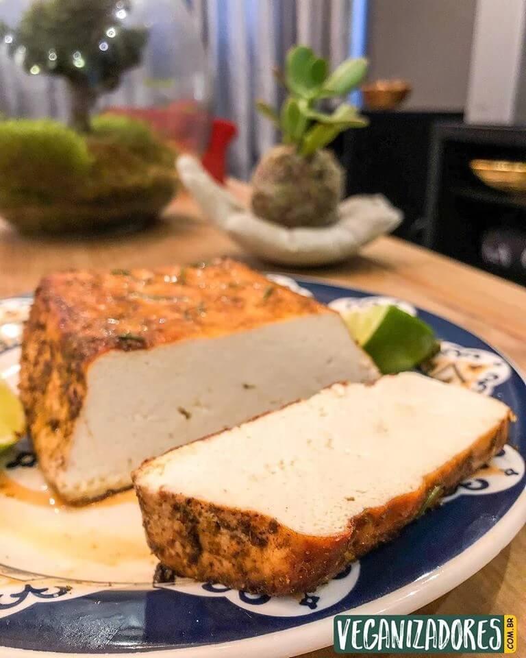 Tofu Assado a la Veganizadores - Receita Vegana
