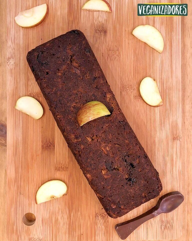 Pão de Maça Vegano - Receita Veganizadores
