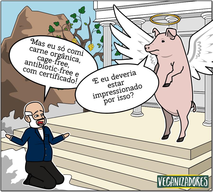 Deu Ruim - Quadrinhos Veganos - Veganizadores