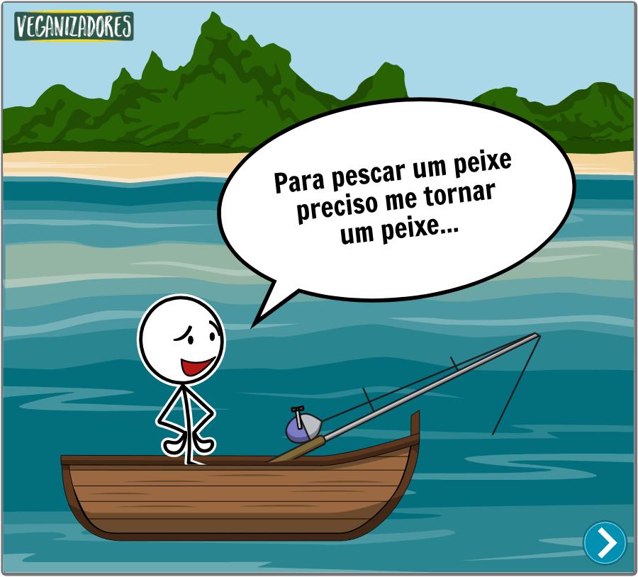 Pescar ou Nao Pescar Quadrinhos Veganos VeganizadoresPescar ou Não Pescar? Quadrinhos Veganos - Veganizadores - 1