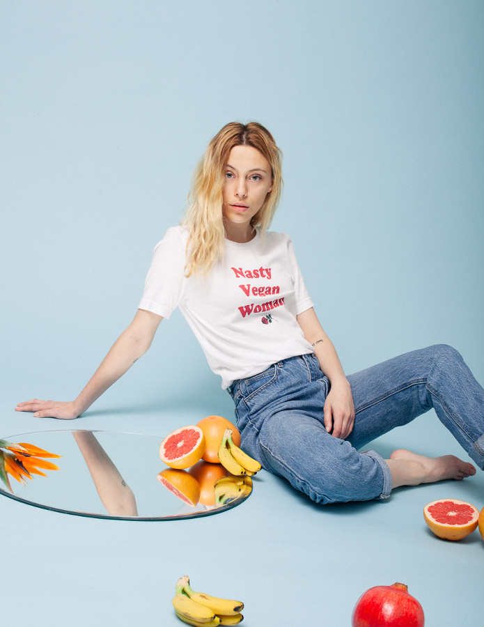 The Nasty Vegan Woman Shirt - Veganized World Apparel