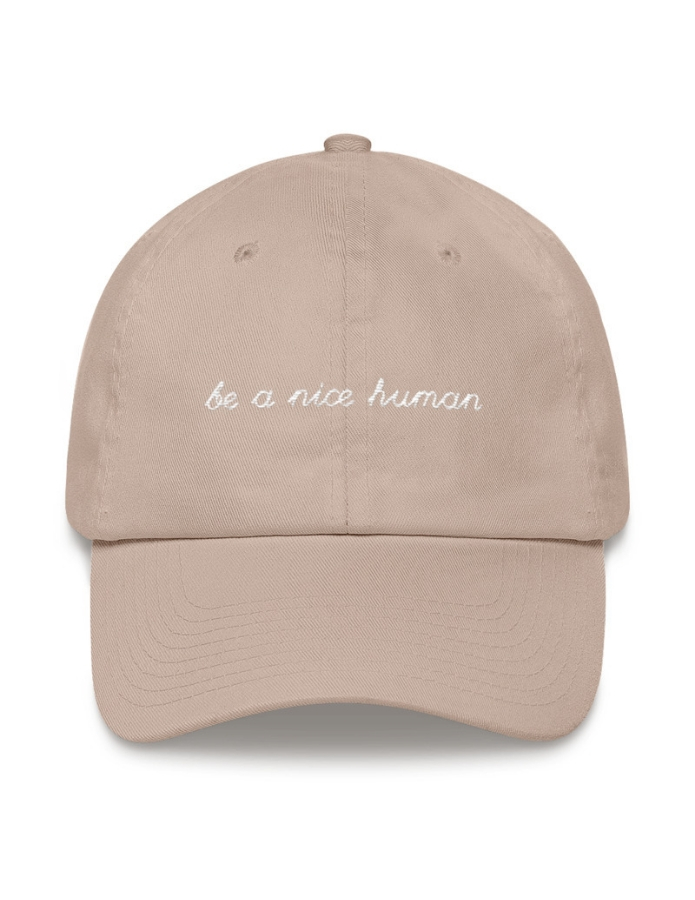 be-a-nice-human-hat-veganized-world