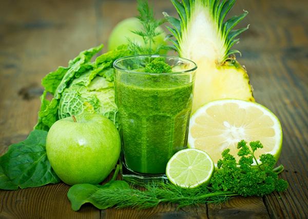 vegán zöld turmix