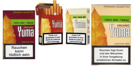 yuma organikus vegan cigaretta