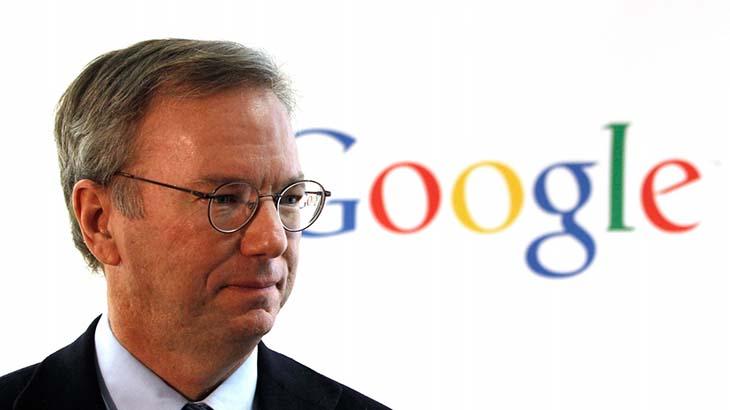 eric schmidt a google vezerigazgatoja