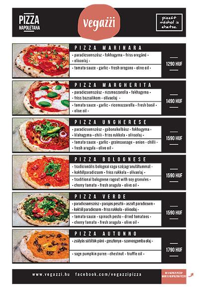 vegan napolyi pizza etlap vegazzi