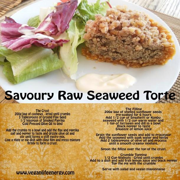 savoury seaweed torte