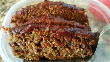 cooked no-meat loaf