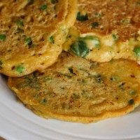 "Mini Spinach and Pea ""Omelettes"""
