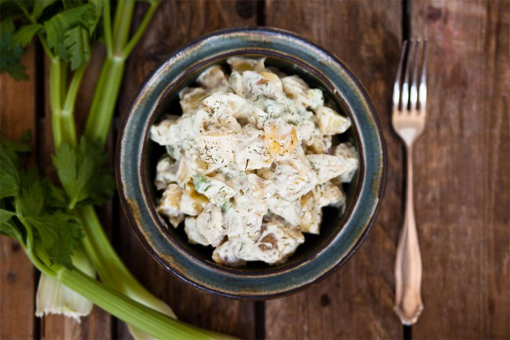 veganer kartoffelsalat rezept